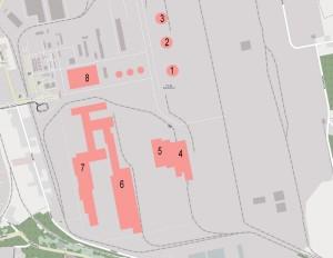 ArcelorMittal Dabrowa Gornica Map