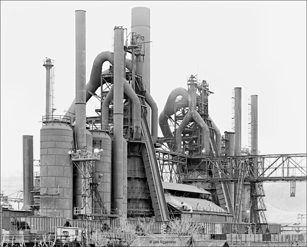 Number 7 Blast Furnace : Blast furnace part