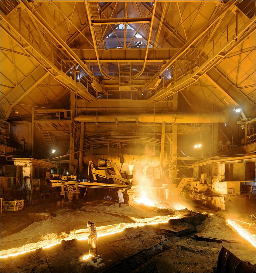 Ural Steel Blast Furnace