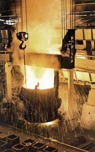 Hoesch Siemens-Martin Stahlwerk