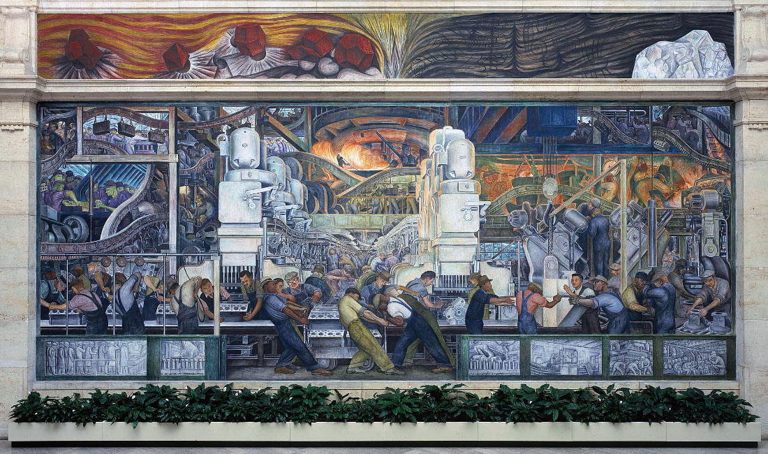 News for Diego rivera mural detroit