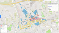 Karte der Dortmund-Hörder Hüttenunion