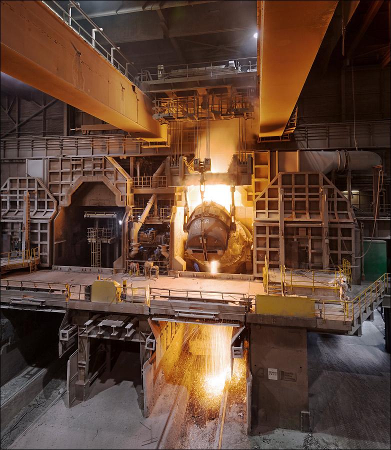 Nirosta Krefeld, Stahlwerk