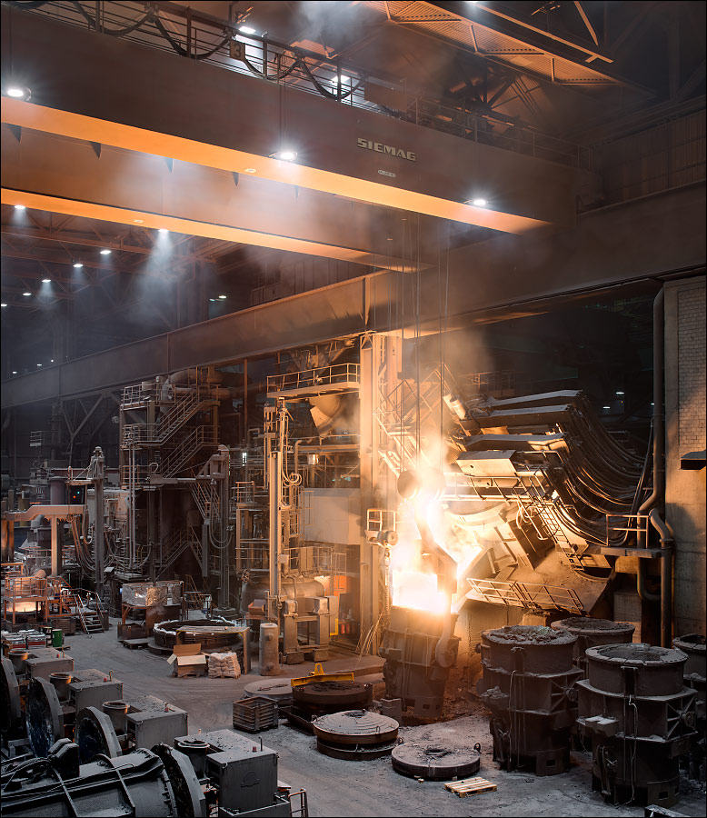 VDM Metals Stahlwerk
