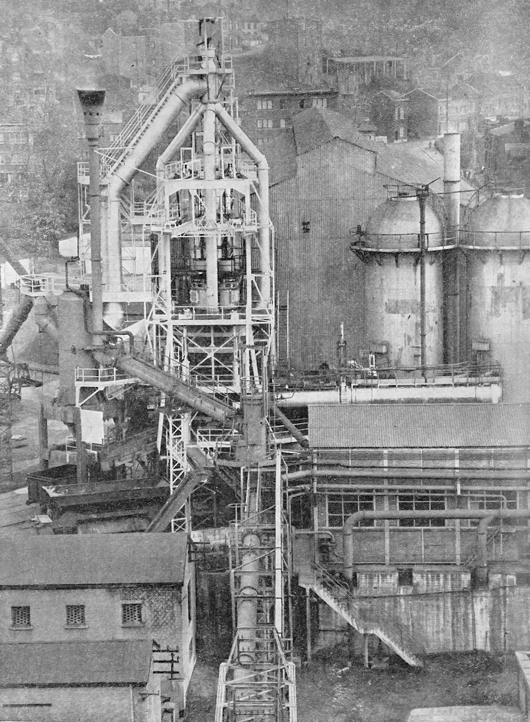 Experimetal blast furnace