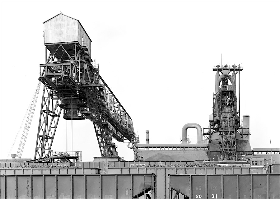 Armco steel blast furnace